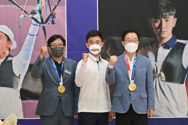 1.경북일고, 올림픽 2관왕 김제덕 선수 환영 행사 개최02.jpg